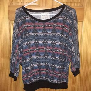 BILLABONG Crew Neck Aztec Sweater
